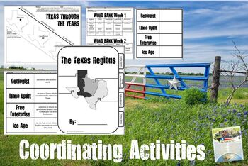 Texas History- Texas Geography & Regions- Use with Texas Studies Weekly