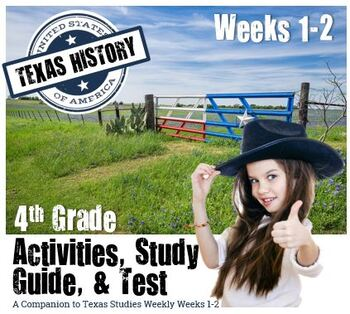 Texas History- Texas Geography & Regions- Use with Texas S