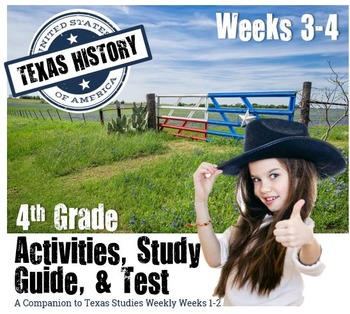 Texas History- Texas Government & Early Texans- Use with T