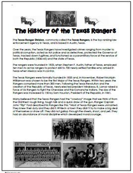Texas Revolution Unit, Texas History TEKS 4.3A,B,C,D,and F