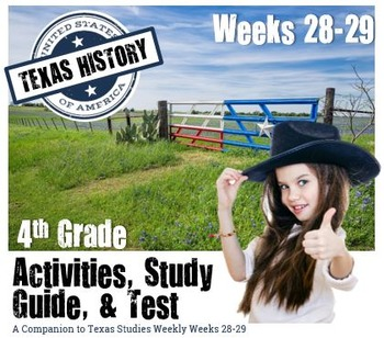 Texas History-The 20th Century- Use with Texas Studies Weekly 28-29