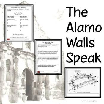 Texas Revolution - The Alamo Writing Assignment