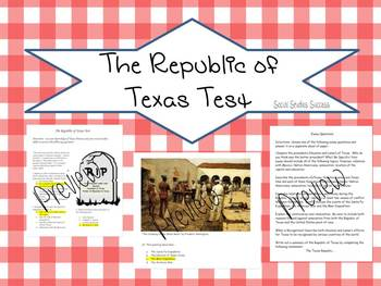 The Republic of Texas Test