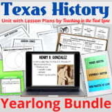 Texas History 4th Grade Bundle with Lesson Plans