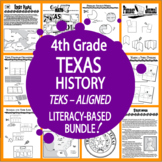 4th Grade Texas History–Spanish Missions, Texas Revolution, Statehood, MORE!