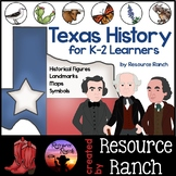 Texas Unit: Symbols, Historical Figures, and Landmarks