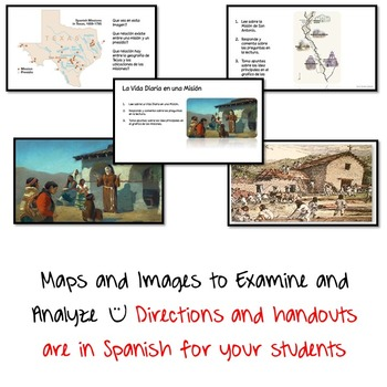 Texas History in Spanish Bundle
