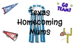 Texas Homecoming Mum