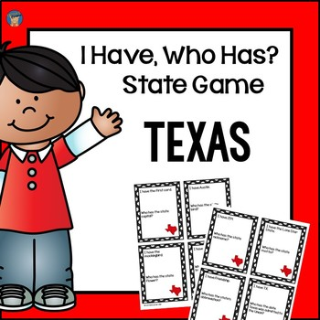 Texas I Have, Who Has Game