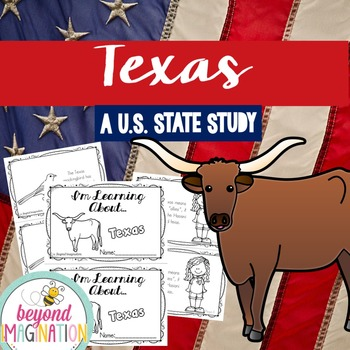 Texas | State Study | 56 Pages for Differentiated Learning + Bonus Pages