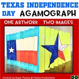 Texas Independence Day Agamograph Art Activity