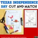 Texas Independence Day Cut and Paste Activity, PreK-3, No