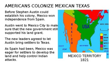 Texas Independence PowerPoint