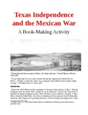 Texas Independence and the Mexican War: A Book-Making Activity
