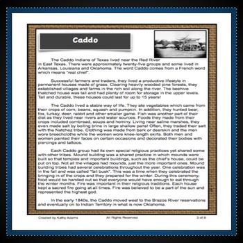 Texas Indians Research the Caddo