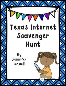 Texas Internet Scavenger Hunt
