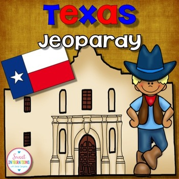TEXAS: EDITABLE POWERPOINT Review Game for Texas History and Facts