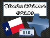 FREEBIE!  Texas KABOOM cards