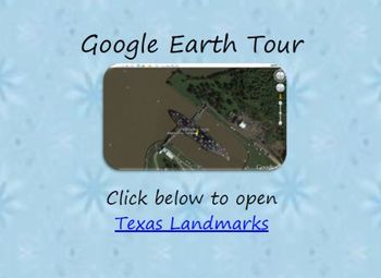 Texas Landmarks Google Earth Tour