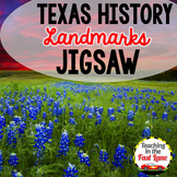 Texas Landmarks Jigsaw Method Activity