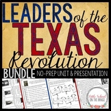 Texas History - Texas Leaders BUNDLE