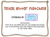 Texas Letter Matching