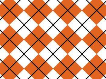 Texas Longhorns Inspired Burnt Orange and White Digital Ba