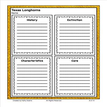 Texas Longhorns Research