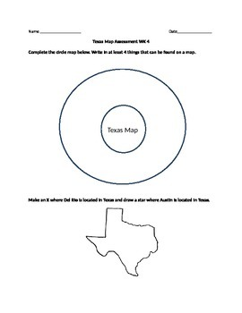 Texas Map Assessment