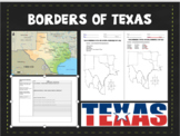 Texas Map Boundaries - Border River/States