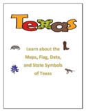 Texas Maps, Flag, Data, and Geography Assessment