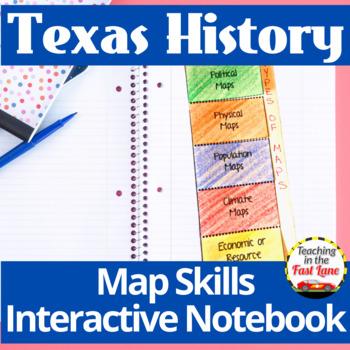 Texas Maps Notebook Kit