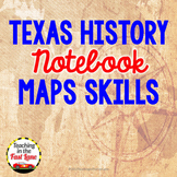 Texas Maps Notebook Kit