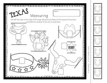 Texas Math Activites