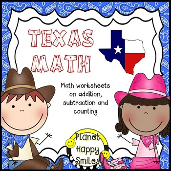 Texas Math Worksheets ~ Addition, Subtraction and Counting