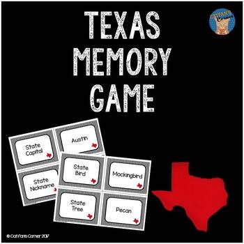 Texas Memory Game