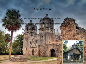 Texas Missions and Settlements