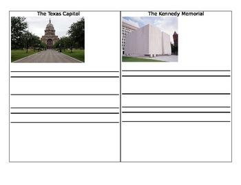 Texas  Monument Symbols