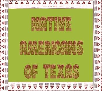 Texas Native American Tribe Names