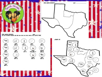Map Of Texas Natural Resources.Texas Natural Resources