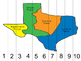Texas -Number  Counting Puzzles