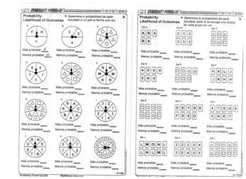 Texas Numeracy Daily Review in Spanish in Smart Notebook