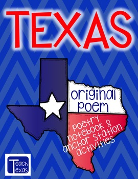 Texas - Original Poem - Poetry Notebook & Anchor Station A