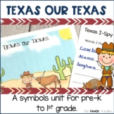 Texas Symbols Literacy Activities
