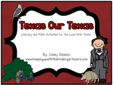 Texas Our Texas (A Literacy and Math Mini-Unit for the Lone Star State)