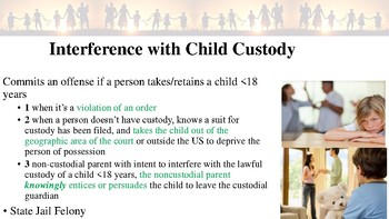 Texas Penal Code Offenses Against the Family Notes