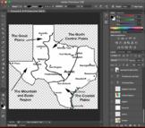 Texas Photoshop document/images