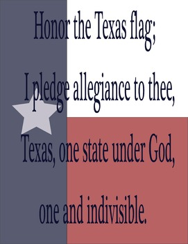 Texas Pledge