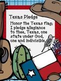 Texas Pledge FREEBIE