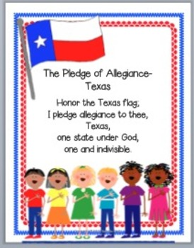 Texas Pledge of Allegiance